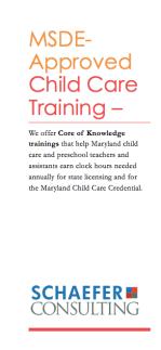 training flyer image
